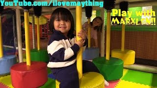 Kids and Toddlers' Indoor Playground Playtime! Bouncers, Slides, Trampolines, Etc... December 2016