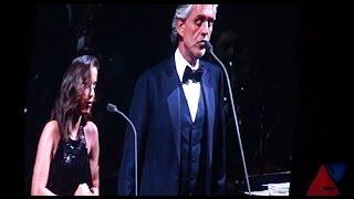 Anitta e Andrea Bocelli cantam Canto Della Terra