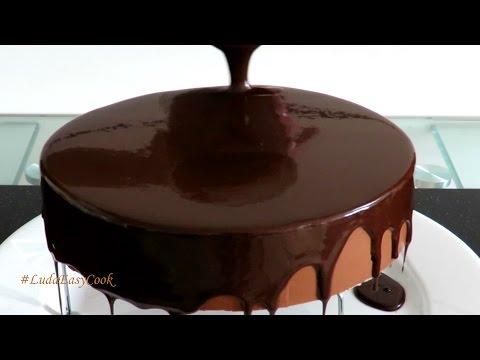 рецепт шоколадной зеркальной глазури первую очередь