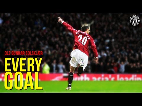 Every Goal Ole Gunnar Solskjaer Manchester United