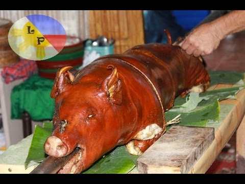 How to roast a whole pig how to make Lechon