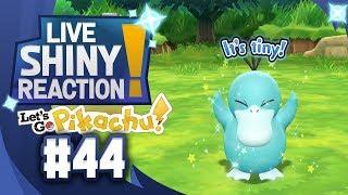 ✨SHINY PSYDUCK LIVE REACTION✨ || KANTO LIVING DEX #44 - Pokémon LGPE
