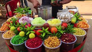Indian Street Food Kolkata - Jhal Muri - Masala Muri - Bengali Street Food India