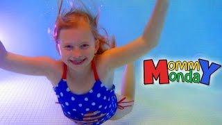 Halloween Swimming || Mommy Monday