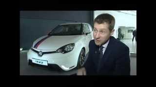 Birmingham: MG Unveil New Model - MG3 (2013)