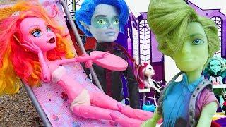 Monster High bebekleriyle eğlenceli oyunlar
