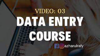 Data Entry Training - Live Work Demo for BEGINNERS