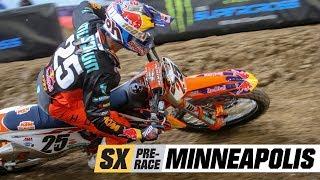 Supercross Pre-Race: Minneapolis