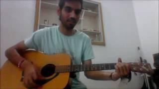 Chand Chupa Badal Mein - ARMAAN MALIK - COMPLETE GUITAR COVER LESSON CHORDS