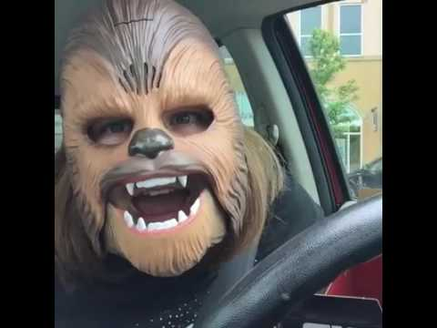 Xxx Mp4 LAUGHING CHEWBACCA MASK LADY FULL VIDEO 3gp Sex