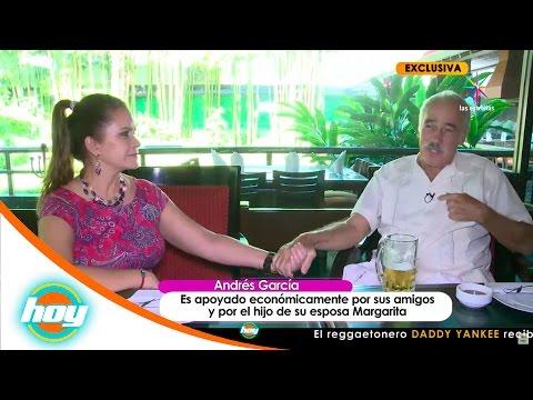 Andrés García confiesa que esta en 'banca rota' | Hoy