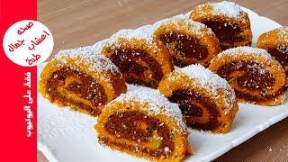 حلوى بدون فرن روعة في المذاق حلويات سهلة وسريعة التحضير حلويات العيد 2017