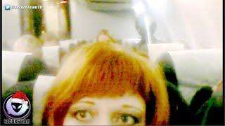 ALIEN Caught In Russian Woman's Selfie On Plane? 12/19/2015