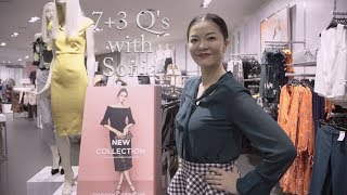 7 + 3 Questions with Sonia for Dorothy Perkins