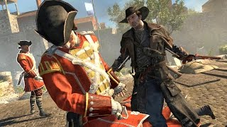 Assassin's Creed Rogue Cowboy Outlaw Free Roam & Finishing Moves