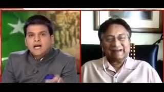 भारतीय पत्रकार और परवेज मुशर्रफ || indian media vs parvesh musarraf fight 29 oct 2016