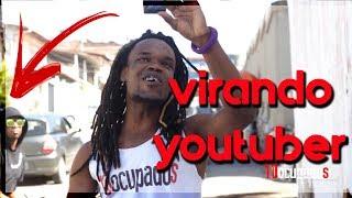 IMITANDO E VIRANDO YOUTUBER DE VLOG