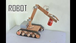 How to Make Robot / Remote controlled Robotic Arm at Home