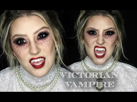 VICTORIAN VAMPIRE | 31 Days of Halloween | GLAMNANNE