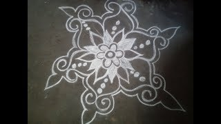 How to draw Alpona bd -আল্পনা-আলপনা আঁকা17design Bangladesh/Bangla year/art