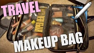 PACK WITH ME: MY TRAVEL MAKEUP BAG