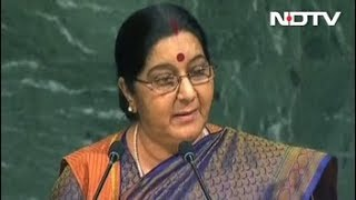 Watch: Full Speech Of Sushma Swaraj At UN