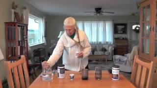 Make a Charcoal Slurry Drink with Activated Charcoal Powder