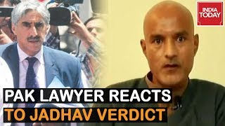 Pak Lawyer's First Reaction From ICJ After Kulbhushan Jadhav Verdict
