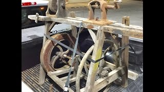 Thank You Jimmy Diresta For The Antique Lathe