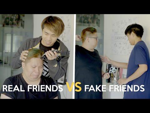 watch REAL FRIENDS VS FAKE FRIENDS