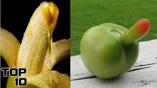 Top 10 Foods That Look Sexual
