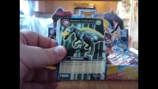 Dinosaur King Colossal Team Battle Booster Box Opening
