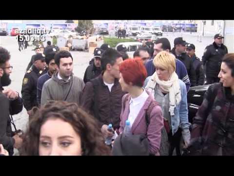 Gənc fəal həbs edildi Azadlıq Radiosunun Fərqli Xəbərlər verilişi 15.03.2013