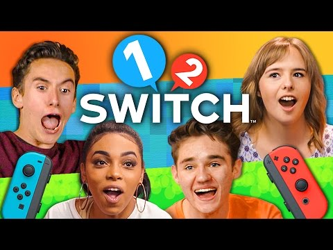 1 2 SWITCH TOURNAMENT Nintendo Switch Teens React Gaming