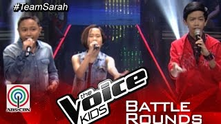 """The Voice Kids Philippines 2015 Battle Performance: """"Keep Holding On"""" by Andrew vs Amira vs Owen"""