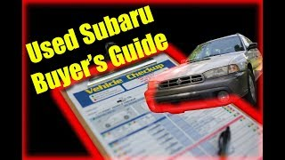 Used Subaru Buyer's Guide
