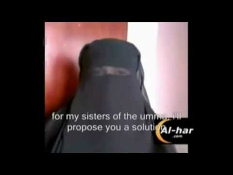 Muslim Girl takes her burka off on YouTube