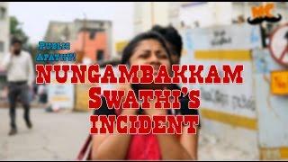 Public Apathy - Infosys Swathi's Incident
