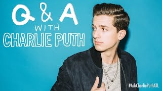 Ask Atlantic: Q&A with Charlie Puth