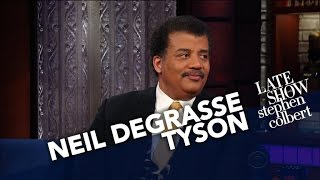 Neil deGrasse Tyson Puts Earth