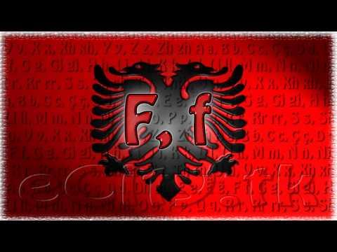 Albanian Alphabet Alfabeti i Shqipes eCity.tk