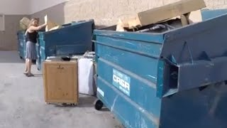 WE WENT DUMPSTER DIVING AT FOUR BIG STORES