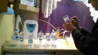 KUŞADASInda içtiğimiz 18 MARKA lı su ve Ph değerleri TEST 2/2