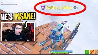 I Spectated A Player with TWITTER In His Name... (HE WIPED THE LOBBY)