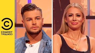 Love Island's Chris Hughes & Olivia Attwood Toughest Relationship Test | Your Face Or Mine