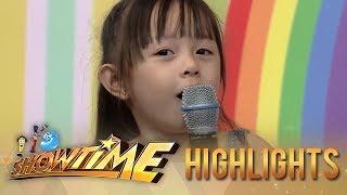 It's Showtime Mini Me 3 Grand Finals: Mini Kim Chiu makes Vice, Vhong, and Zeus laugh