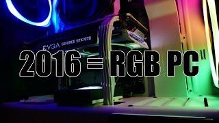 X99 RGB PC Build