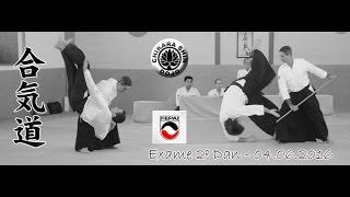 tachi dori e jo tori - Exame Nidan - Aikido