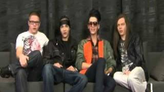 Tokio Hotel Valentine's Day 2011 message