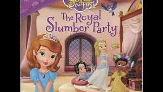 Disney Sofia The First The Royal Slumber Party Storytime Book Reading